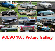 Volvo 1800 Picture Gallery